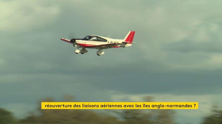 Aérodrome de Granville (Jean-Michel Guillaud / France 3 Normandie)