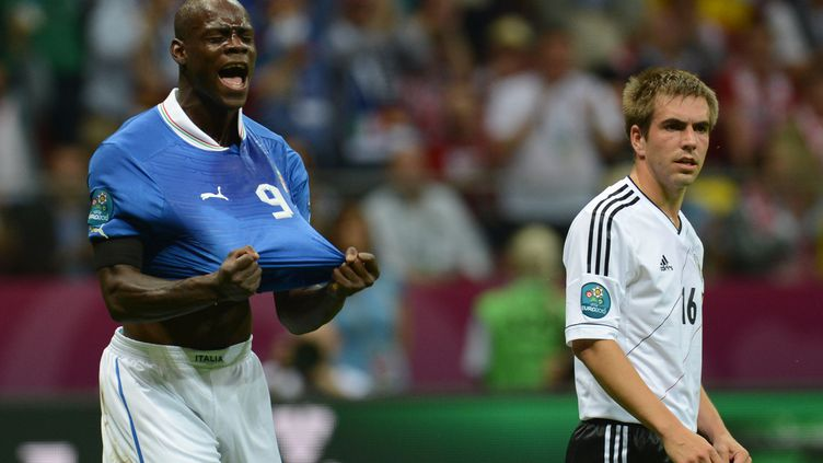 Mario Balotelli bourreau des Allemands à l'Euro 2012