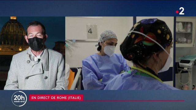 Italie : les soignants et pharmaciens obligés de se faire vacciner contre le Covid-19