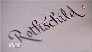 Rothschild (CAPTURE ECRAN FRANCE 2)