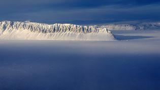 Le détroit d'Eureka, dans les régions arctiques du Canada, le 25 mars 2014. (NASA / REUTERS)