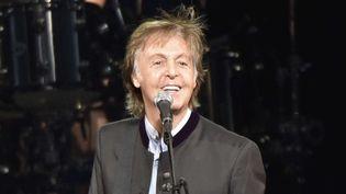 Paul McCartney radieux en concert en juillet 2017.  (Rob Grabowski/AP/SIPA)