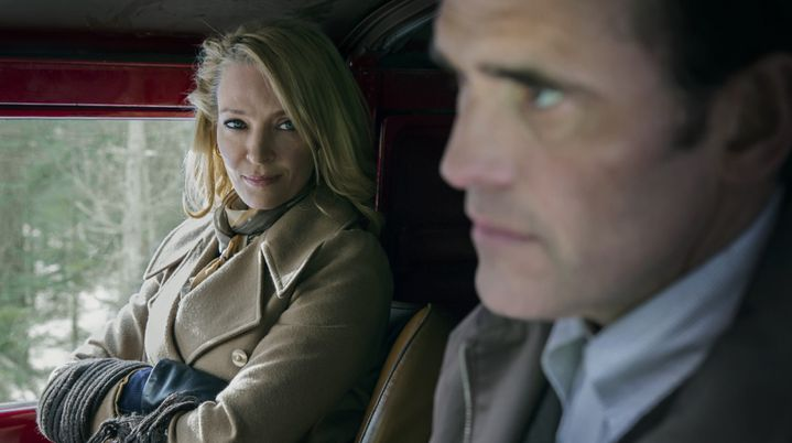"Uma Thurman et Matt Dillon dans The House That Jack Built"" de Lars von Trier  (2018 Concorde Filmverleih GmbH / photo by Zentropa: Christian Geisnaes)"