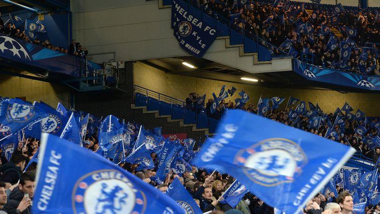 Les supporteurs de Chelsea (GLYN KIRK / AFP)