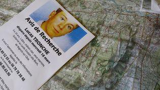 Un avis de recherche pour retrouver Lucas Tronche, cet adolescent disparu en 2015. (MAXPPP)