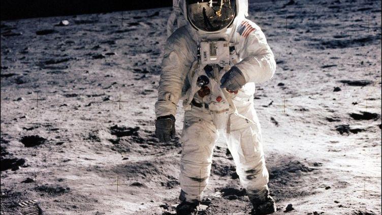 L'astronaute Edwin E. Aldrin sur la Lune le21 juillet 1969. (NASA / AFP)
