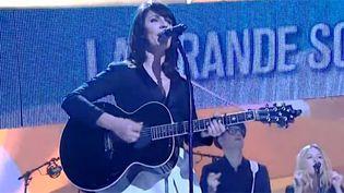 La Grande Sophie répète sur la scène des Victoires 2013  (France 3/ Culturebox)