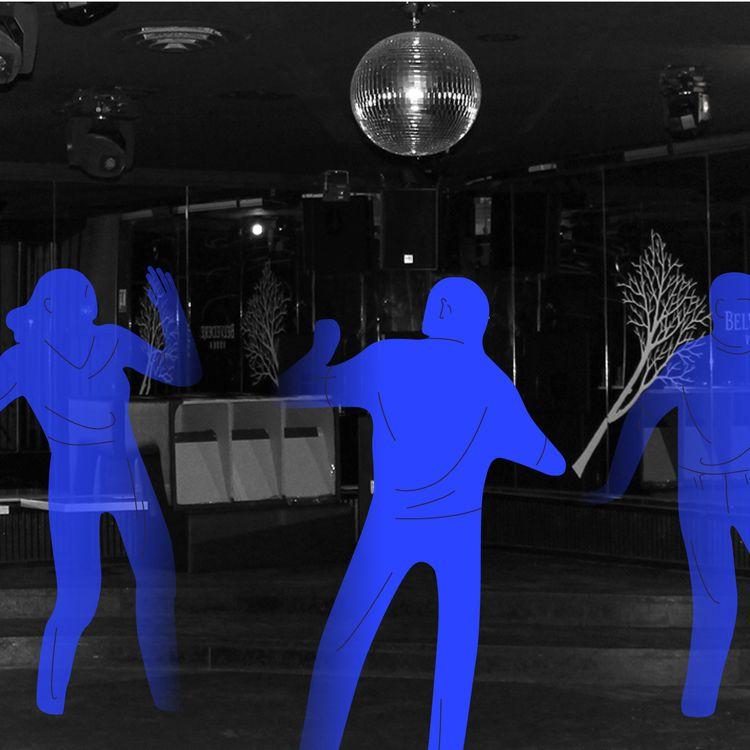L'une des salles vides du Bobo Club, la boîte de nuit de Stéphane Cholay est fermée à partir du 13 mars 2020 à Barbizon, le 17 décembre 2020 (JESSICA KOMGUEN / FRANCEINFO)