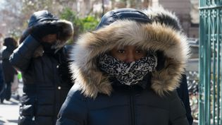 Froid polaire à New-York. (STEPHANIE KEITH / GETTY IMAGES NORTH AMERICA / GETTY IMAGES)