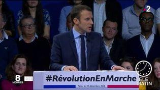 Emmanuel Macron a entamé des mesures pour le pouvoir d'achat. (FRANCE 2)
