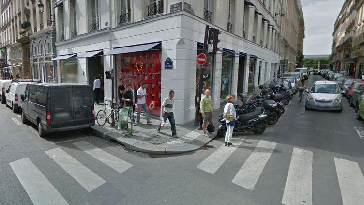 La boutique Colette, rue Saint-Honoré, à Paris. (GOOGLE STREET VIEW / FRANCETV INFO)