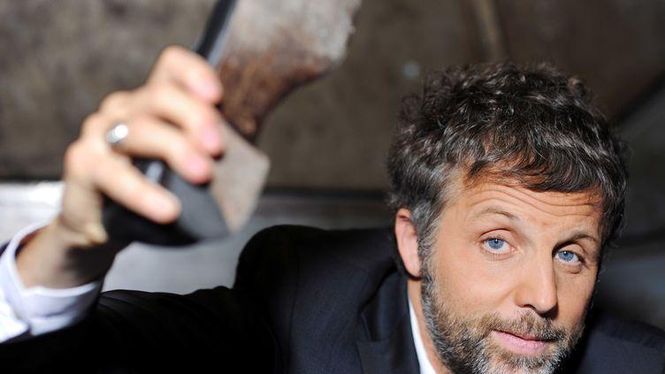L'humoriste Stéphane Guillon le 15 novembre 2010. (BALTEL/SIPA/1011191004)