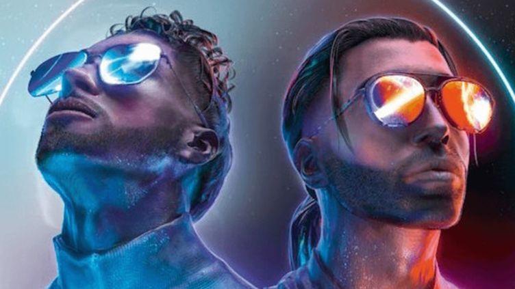 """Les frères N.O.S. et Ademo de PNL sur le visuel de l'album """"Deux frères"""", à paraître le 22 avril 2019. (PNL)"""