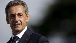 Nicolas Sarkozy lors de l'université d'été du parti les Républicains à La Baule (Loire-Atlantique), le 5 septembre 2015. ( STEPHANE MAHE / REUTERS)