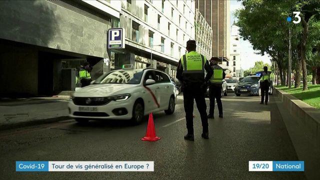Covid-19 : les restrictions se multiplient en Europe