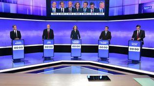 Troisième et dernier débat de la primaire à droite (AFP)