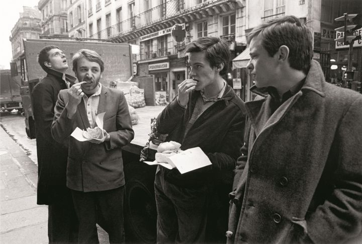 Joy Division, 18 décembre 1979, Rue St Denis, Paris 1979 (Pierre René-Worms)