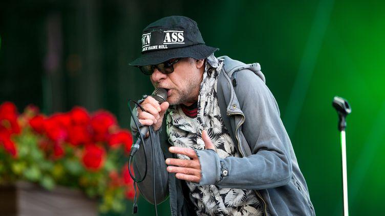 Bernard Bonvoisin. (MICHEL STOUPAK / NURPHOTO)