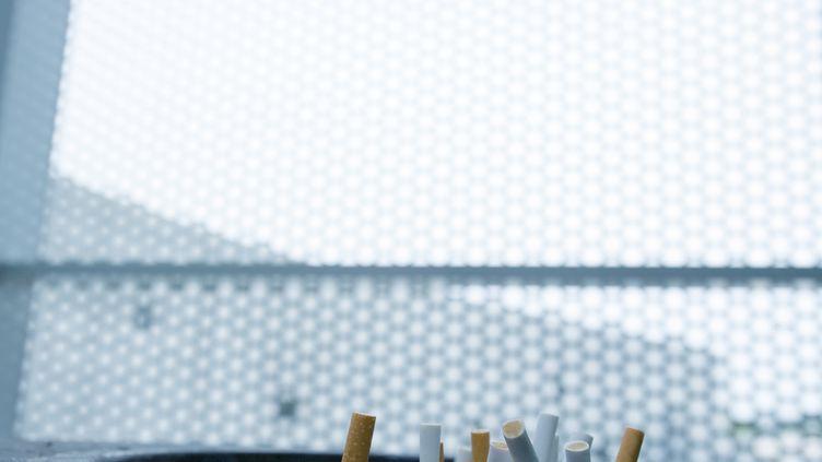 Marisol Touraine, la ministre de la Santé, s'apprêterait à annoncer le 17 juin 2014, l'adoption de paquets de cigarettes neutres. (MAXPPP)