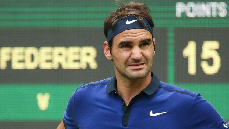 Le joueur suisse Roger Federer (FRISO GENTSCH / DPA)