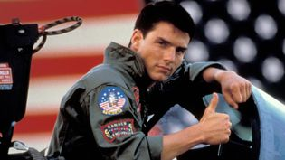 "Tom Cruise dans ""Top Gun"", 1986  (Kobal / The Picture Desk / AFP)"
