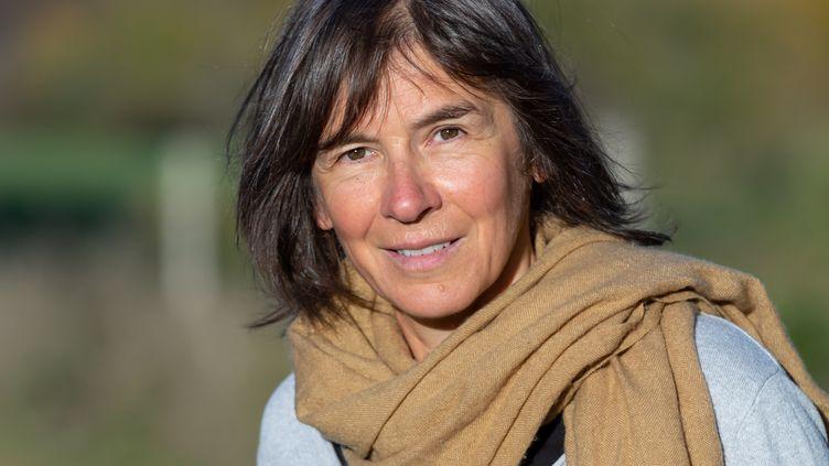 Portrait de la romancière Violaine Bérot en janvier 2020 (STEPHANE LESSIEUX PHOTOGRAPHIE)