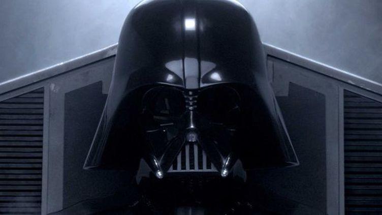 Dark Vador (Hayden Christensen méconnaissable) dans l'épisode III de Star Wars en 2005  (Lilo / Sipa)