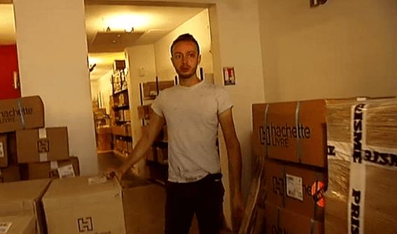 Une centaine de cartons par jour  (France 3)