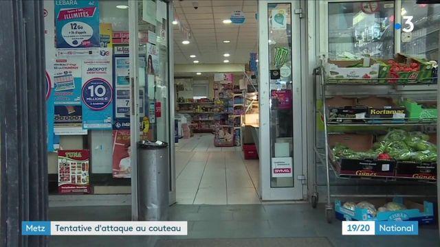 Metz : une attaque au couteau avortée