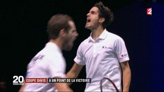 Coupe Davis : le double donne l'avantage à la France en finale