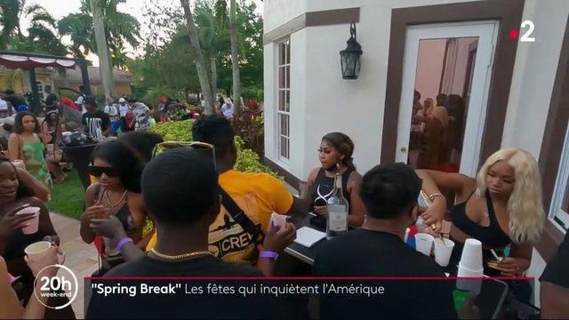 États-Unis : Miami pris d'assaut par les jeunes américains pour le Spring Break
