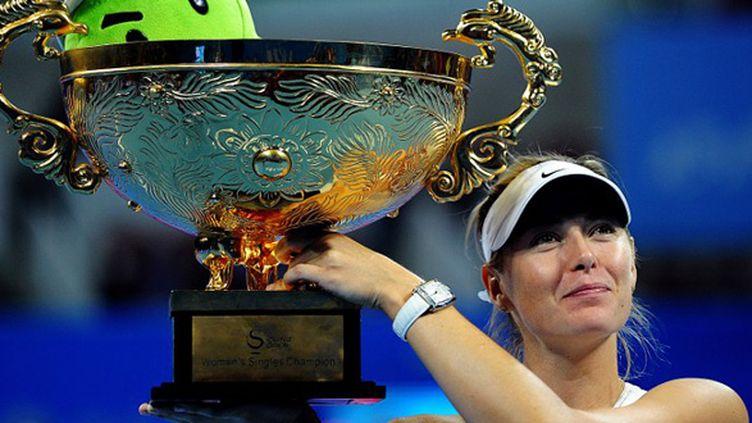 Maria Sharapova (GOH CHAI HIN / AFP)