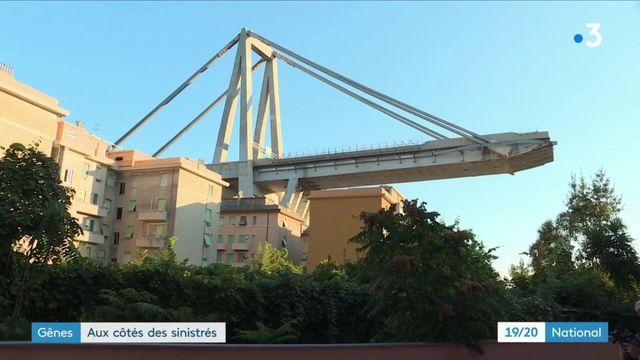 Gênes : les sinistrés du pont Morandi tentent d'aller de l'avant
