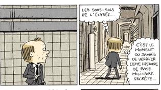 """""""Le château"""" (Ed. Dargaud), un an à l'Elysée  (France 3 / Culturebox)"""