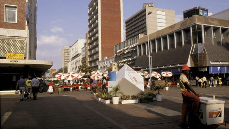La capitale du Zimbabwe, Harare. (AFP/Alain Even / Photononstop)