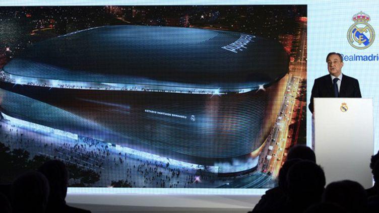 Le Real Madrid veut couvrir le stade Santiago Bernabeu (JAVIER SORIANO / AFP)