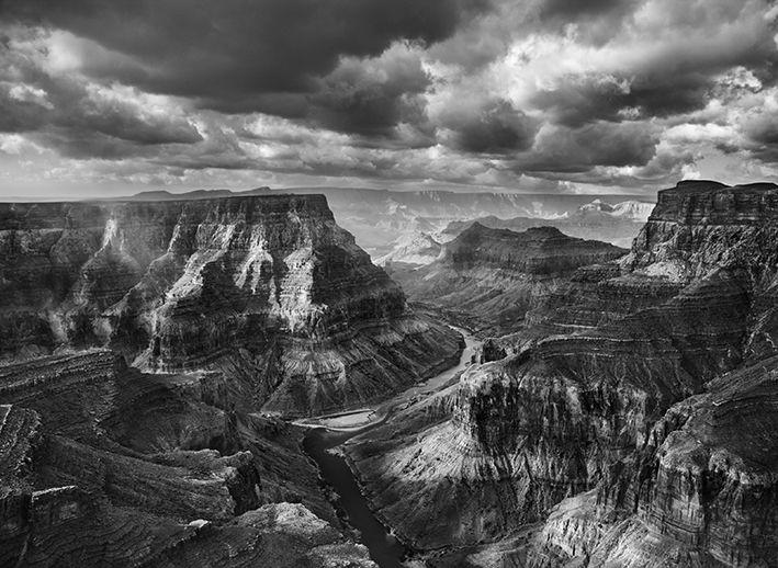 Vue du confluent du Colorado et du petit Colorado prise depuis le territoire Navajo. Arizona, Etats-Unis, 2010. (© SEBASTIÃO SALGADO / AMAZONAS)