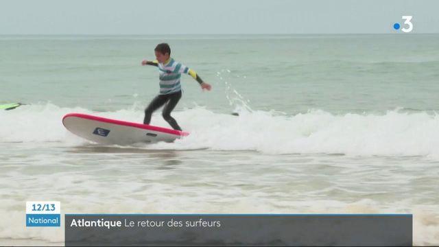 Surf : les habitants de Capbreton peuvent remonter sur les planches