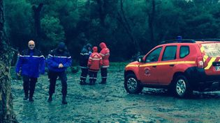 Les secours ont découvert deux victimes des inondations, le 17 mars 2015, à Oletta (Haute-Corse). (FRANCE 3 CORSE VIASTELLA)