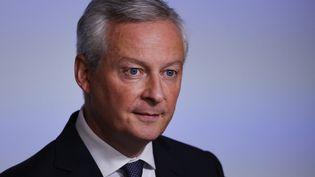 Le ministre des Finances Bruno Le Maire, à Paris le 22 septembre 2021. (THOMAS SAMSON / AFP)