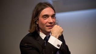 Le mathématicien Cédric Villani le 29 septembre 2014 à Paris  (NICOLAS MESSYASZ/SIPA)
