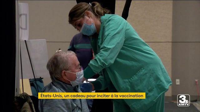 Covid-19 : aux Etats-Unis, tout est bon pour inciter à la vaccination