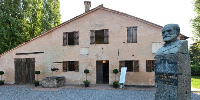 La maison natale de Verdi à Roncole, près de Parme  (Giuseppe Cacace)