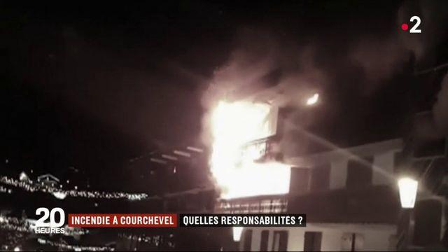 Incendie à Courchevel : quelles responsabilités ?