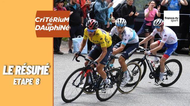 Critérium du Dauphiné 2021 : le résumé de la huitième et dernière étape