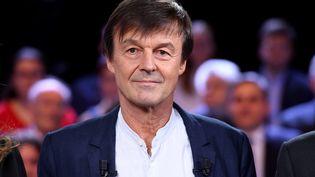 """Nicolas Hulot sur le plateau de """"L'émission politique"""" sur France 2, le 22 novembre 2018. (BERTRAND GUAY / AFP)"""