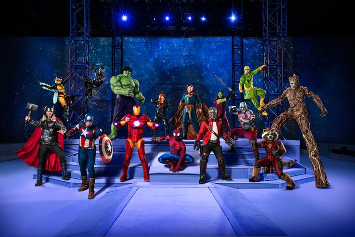 Marvel Universe Live à Paris (Marvel)