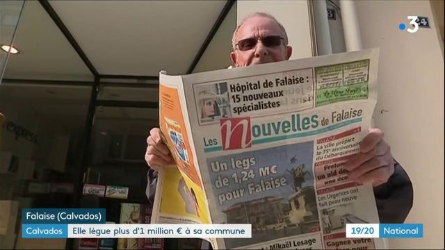 Calvados : elle lègue plus d'1 million d'euros à sa commune