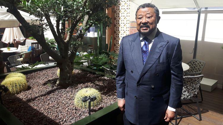 S'il n'a pas encore eu de contact direct avec Emmanuel Macron, Jean Ping peut compter sur le soutien de la diaspora gabonaise de Paris. (SÉBASTIEN BAER / RADIO FRANCE)