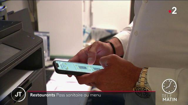 Covid-19: les restaurants se préparent au QR code sanitaire